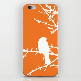 Orange Bird iPhone Skin