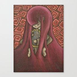 Ghost Kiss Canvas Print
