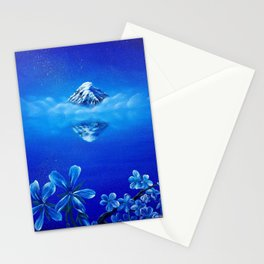 Magical Mountain Stationery Cards