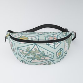 Crystals and Plants Fanny Pack