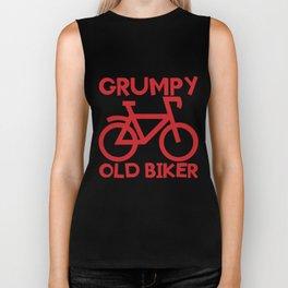 Senior Citizen T-Shirt Gift Grumpy old biker Biker Tank