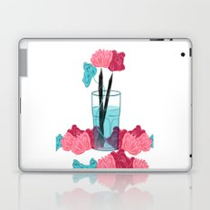 Pencil Roses Laptop & iPad Skin