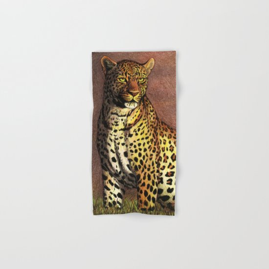 Panther Hand & Bath Towel