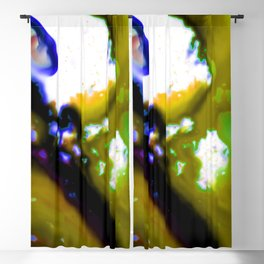 Abstract Bliss 3C by Kathy Morton Stanion Blackout Curtain