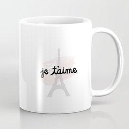 je t'aime Coffee Mug