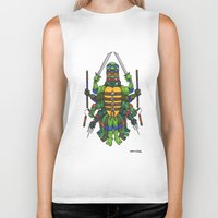 tmnt Biker Tanks featuring TMNT by Artifact Supply