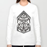 """sacred geometry Long Sleeve T-shirts featuring N3O """"Sacred Geometry 1""""  by GraffitiWorld"""