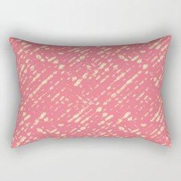 Coral Shibori Rectangular Pillow