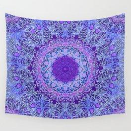 Wisteria Mandala Wall Tapestry