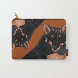 Totem Black dingo Carry-All Pouch