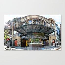 Sunshine Theater Canvas Print