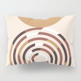 Minimal Abstract Rainbow Pillow Sham