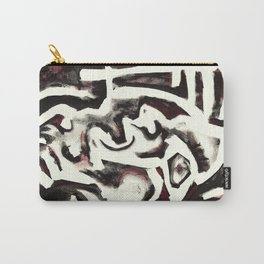 Member of the Tribe - ivory Carry-All Pouch