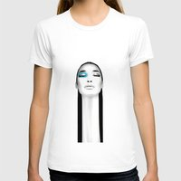 asian T-shirts featuring The Asian by Axel Savvides