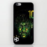 neymar iPhone & iPod Skins featuring NEYMAR JR by dan elijah g. fajardo