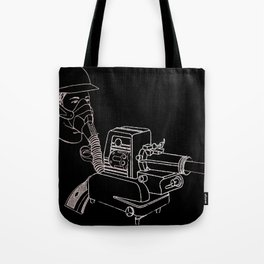 Gasmask Projector                          Tote Bag