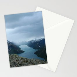 Down the Fjord Stationery Cards