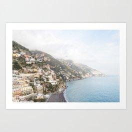 Positano, Amalfi Coast Art Print