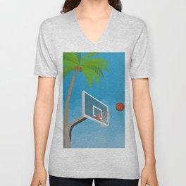 Basketball No. 2 Unisex V-Neck