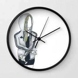 3 STRIPES & CHAMPAGNE Wall Clock