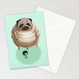 The Pug Stationery Cards