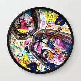 Spontaneity Wall Clock
