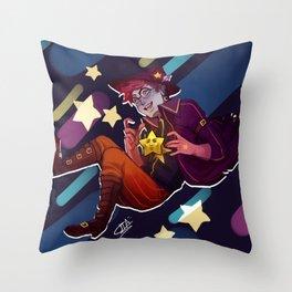 Star Wizard Throw Pillow