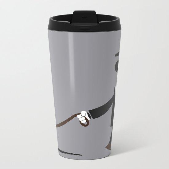 Walkies Metal Travel Mug