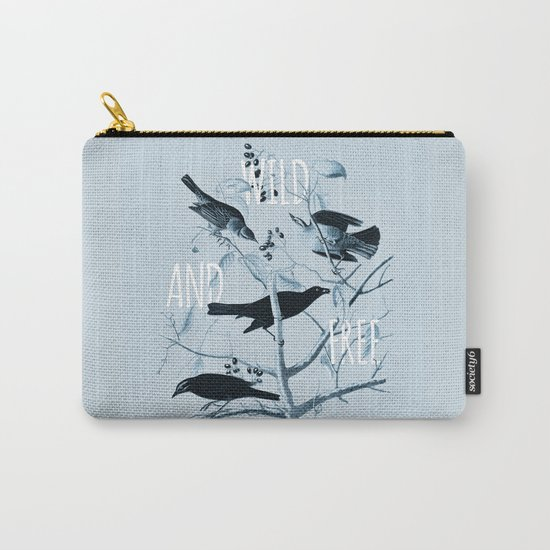 Wild and Free Carry-All Pouch