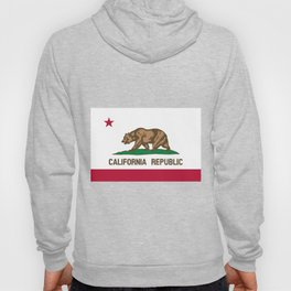 Flag of the State of California Hoody
