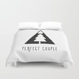 Perfect couple Duvet Cover