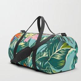 Bird of Paradise Hawaii Rainforest Duffle Bag