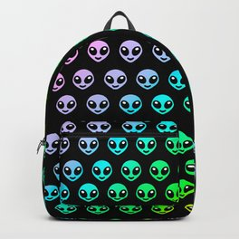 Alien smiley Backpack