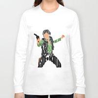 han solo Long Sleeve T-shirts featuring Han Solo by Ayse Deniz