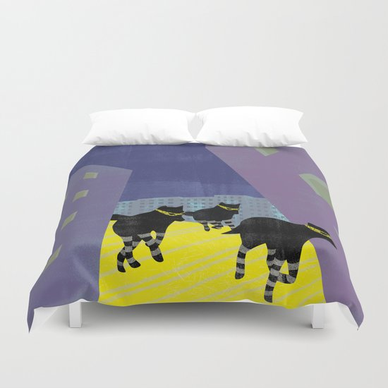 out of the city Duvet Cover