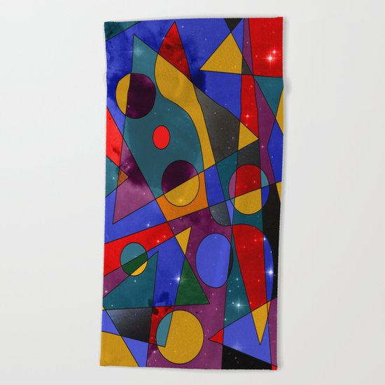 Abstract #152 Beach Towel