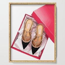 Fashion shoes Serving Tray