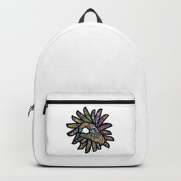 Okay Hand Sign Psychedelic Watercolor Trippy OK Gesture  Backpack