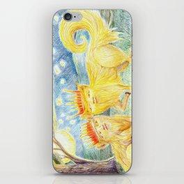 Romance on the ecotone iPhone Skin
