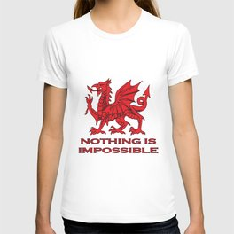 Nothing Is Impossible Red Dragon T-shirt