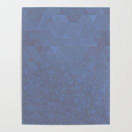 Experimental Glitter VII Poster