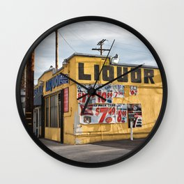 Liquor Store Culver City Wall Clock