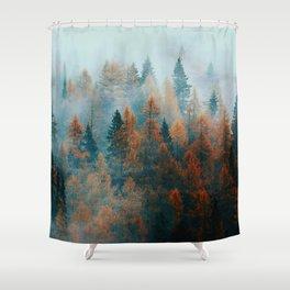 Holomontas Autumn Shower Curtain