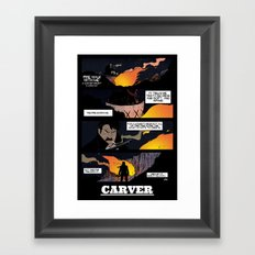 CARVER: Fire Walk With Me Framed Art Print