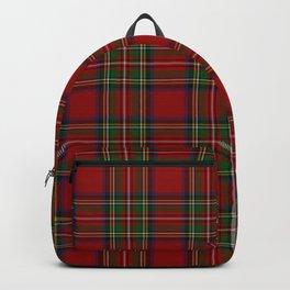 The Royal Stewart Tartan Backpack