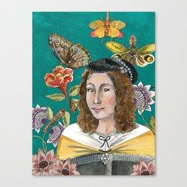 Maria Sibylla Merian Canvas Print