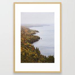 Bare Bluff | Copper Harbor, Michigan | John Hill Photography Framed Art Print