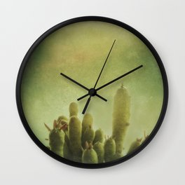 Cactus in my mind Wall Clock
