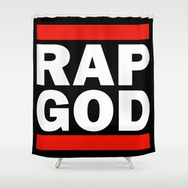 RAP GOD Shower Curtain