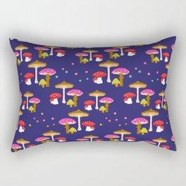 Magic Mushrooms Rectangular Pillow